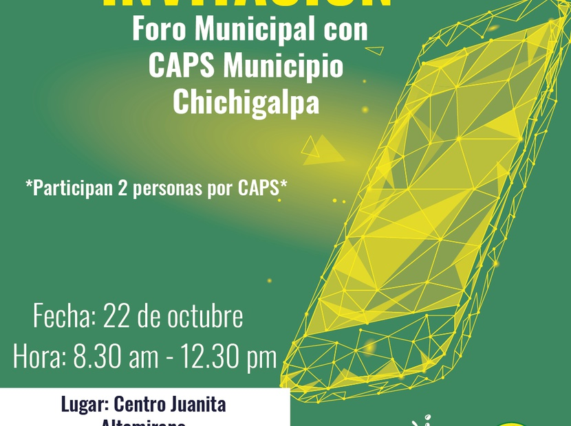 Foro Municipal de CAPS Chichigalpa